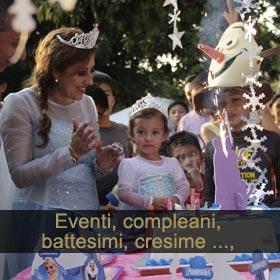 Compleanni, cresime, battesimi
