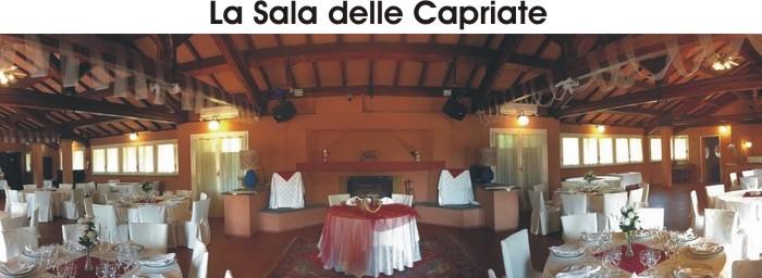 matrimonio sala delle capriate